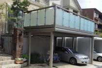 三協立山アルミ グランフローア(旧ニュービッグバルコニー)で駐車場有効利用